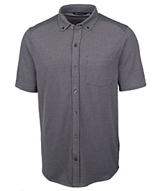 Men's Reach Oxford Button Front Short Sleeve Shirt
