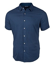 Men's Windward Jigsaw Print Short Sleeve Shirt