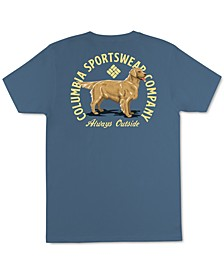 Sportswear Men's Golden Retriever Graphic T-Shirt