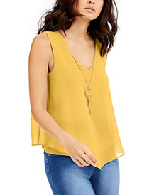 Sleeveless Necklace Top, Created for Macy's