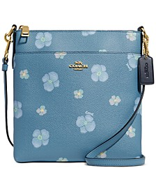 Pansy Print Mini Kitt Crossbody
