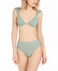 Allie Bikini Top & Emily High-Waist Bikini Bottoms, Created for Macy's