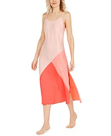 INC Colorblocked Nightgown, Created For Macy's