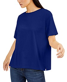 Cotton T-Shirt, Regular & Petite Sizes