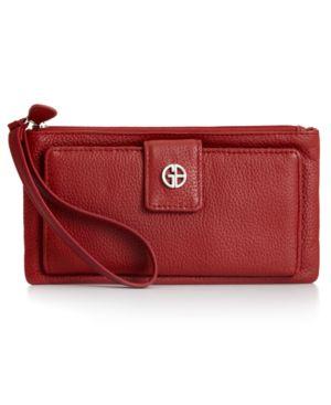 GIANI BERNINI   Giani Bernini Softy Grab & Go Leather Wristlet, Created For Macy'S   Goxip