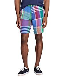 Men's Big & Tall Classic-Fit Madras Shorts