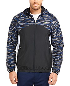 Men's Block-Stripe Lightweight Jacket