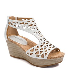 Miriam Wedge Sandals