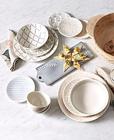 Textured Neutrals Dinnerware Collection
