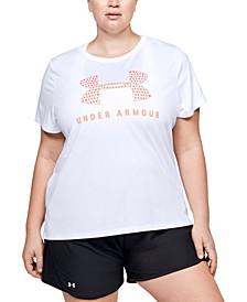 Plus Size Tech Logo T-Shirt