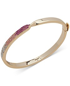 Pavé Twist Bangle Bracelet