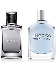 Receive a Complimentary 2-Pc. gift with any large spray purchase from the Man or Urban Hero fragrance collection