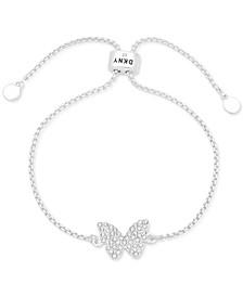 Pavé Butterfly Slider Bracelet