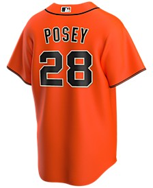 Men's Buster Posey San Francisco Giants Official Player Replica Jersey