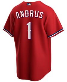 Men's Elvis Andrus Texas Rangers Official Player Replica Jersey