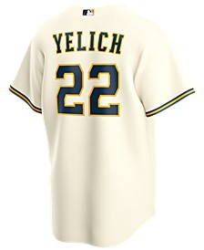 Men's Christian Yelich Milwaukee Brewers Official Player Replica Jersey