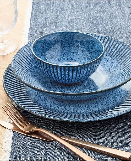 Lucky Brand Denim Dinnerware Collection