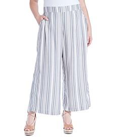 Trendy Plus Size Saydee Printed Pull-On Pants