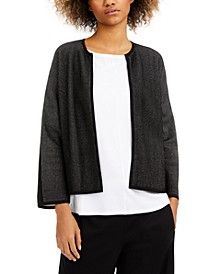 Open-Front Cardigan, Regular & Petite Sizes