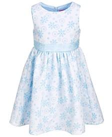 Toddler Girls Floral-Print Sleeveless Party Dress