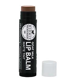 Matte Tint Goat Milk Lip Balm, Cocoa Lips, 0.15 oz
