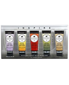 Inspire Goat Milk Hand Cream Gift Set of 5