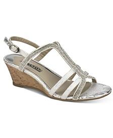 Cranny Dress Wedge Sandals