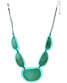 """Resin Statement Necklace, 21-1/2"""" + 3"""" extender, Created for Macy's"""