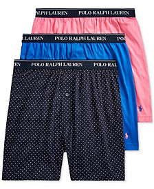 폴로 랄프로렌 속옷 하의 3세트 Polo Ralph Lauren Mens Classic-Fit Cotton Jersey Boxer