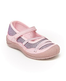 Oshkosh B'Gosh Toddler and Little Kids Girls Franci Bump Toe Mary Jane Shoe