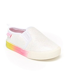 B'Gosh Toddler Girls Casual Maeve Slip-On Shoe
