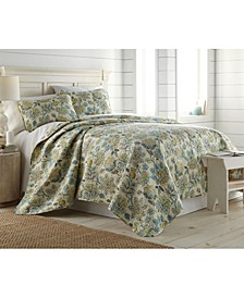 Wanderlust Quilt and Sham Set, Queen