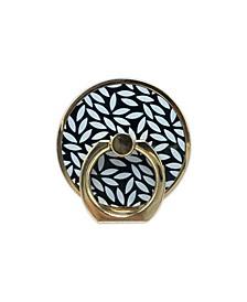 Floral Design Ring Stand Phone Holder
