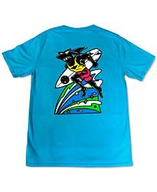 Men's Running Sharkman Graphic T-Shirt
