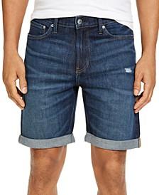 Men's Straight Miami Rain Jean Shorts