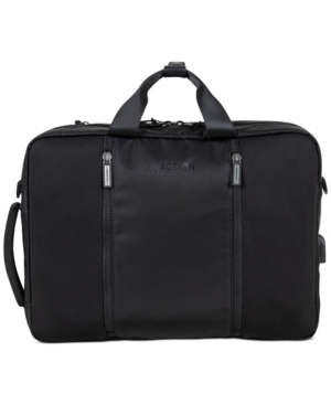 Kenneth Cole Reaction Men's Convertible Backpack Briefcase