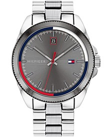 Men's Stainless Steel Bracelet Watch 44mm, Created for Macy's