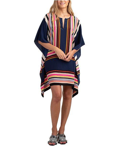 Trina Turk Theodora Silk Striped Dress