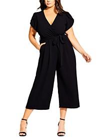 Trendy Plus Size Zen Out Jumpsuit