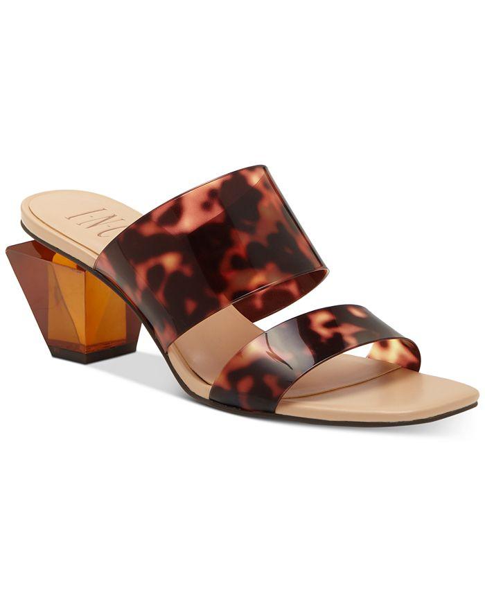 INC International Concepts - Women's Calantha Slide Dress Sandals