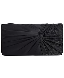 Twisted Flap Clutch, Created for Macy's