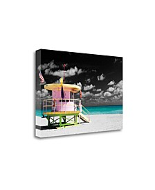 A Day At The Office by Scott Henderson Giclee Print on Gallery Wrap Canvas