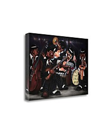 All That Jazz - Baby by Leonard Jones Giclee Print on Gallery Wrap Canvas