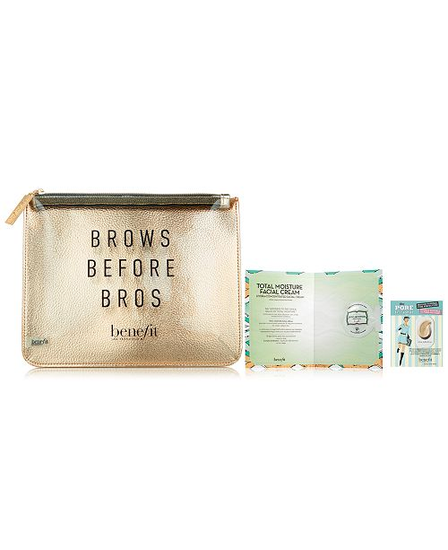 Benefit Cosmetics Receive a FREE Trial-Size 3-Pc. Makeup Gift with any $65 Benefit Cosmetics purchase