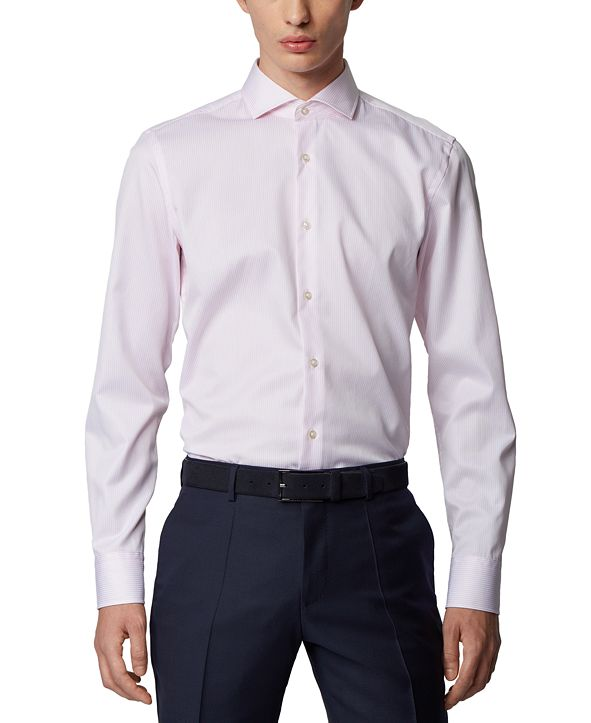 Hugo Boss BOSS Men's Jason Light Pastel Pink Shirt