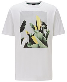 BOSS Men's Tejungle 1 White T-Shirt