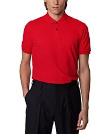 BOSS Men's Pallas Medium Red Polo Shirt