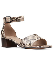 Clarks Collection Women's Elisa Dedra Dress Sandals
