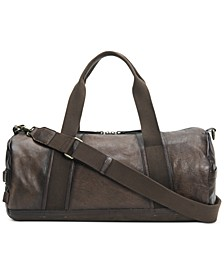 Leather Barrel Bag