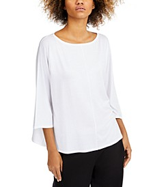 Boat-Neck Relaxed Top